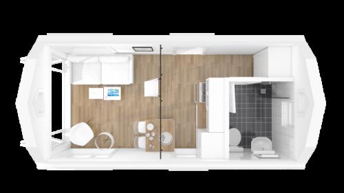 Linnea 3d-plan bottenvåning