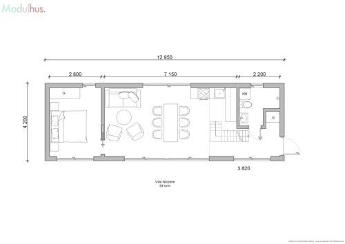 Villa Nicholine plan