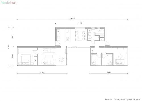 Villa Sagahem Plan