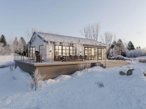 Villa Blanka 86kvm Fritidshus exteriör